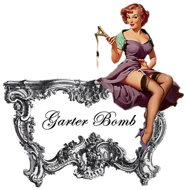 Victoria Shearing's Garter Bomb