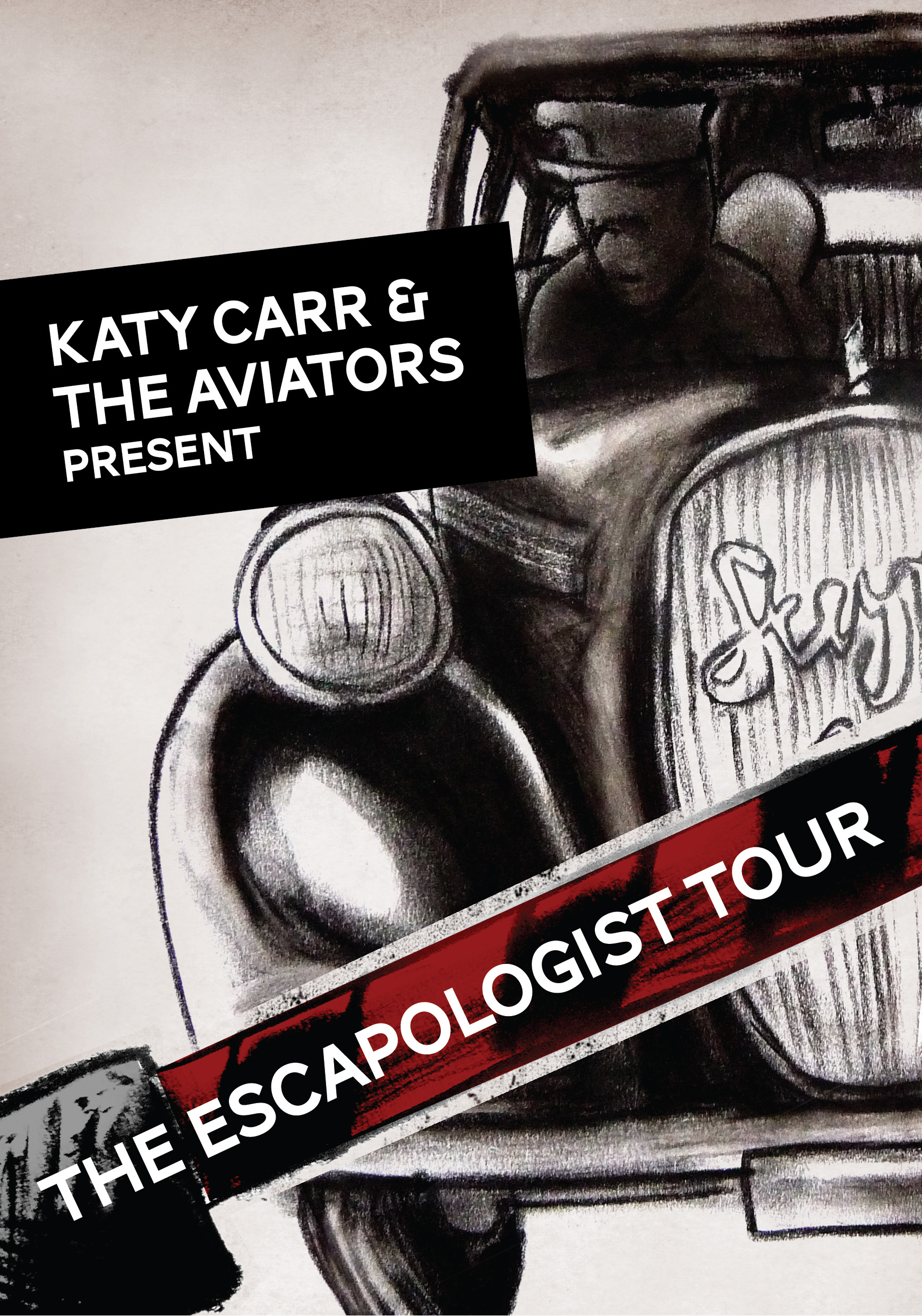 Katy Carr and the Aviators Escapologist Tour 2011