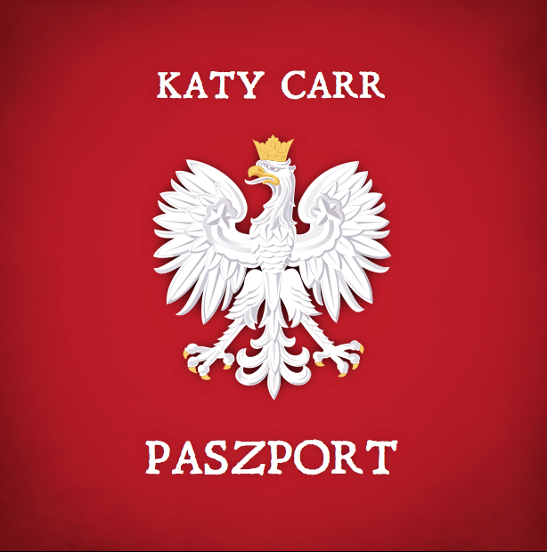 Katy Carr - Paszport' is out now