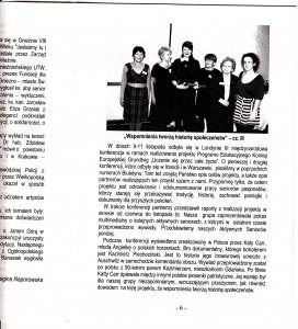 Article in Trzecia Mlodosc - Warsaw Uni Paper ii