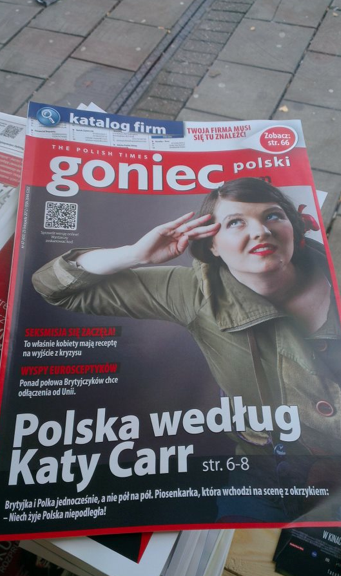 Goniec cover