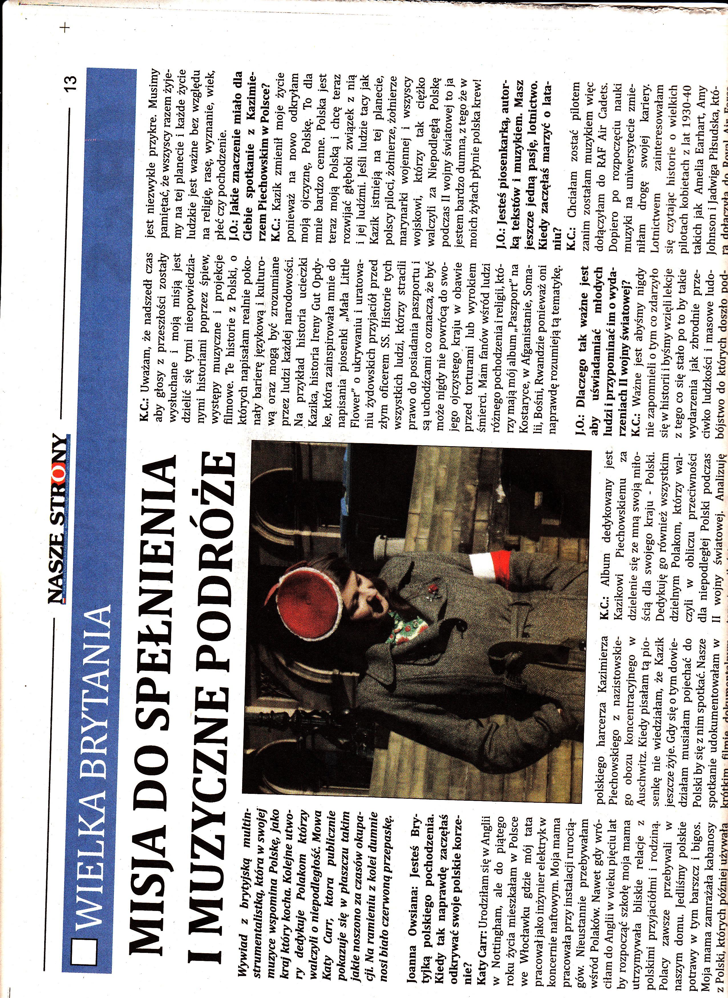 Nasze Strony - Polish Paper i