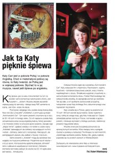 Jak ta Katy pięknie śpiewa - Tygodnik Polski