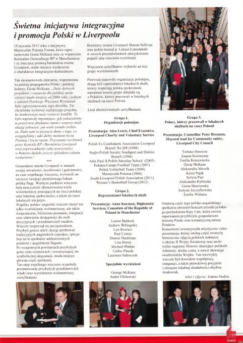 Uropejczyk Kulture Magazine -  Katy Carr in Liverpool