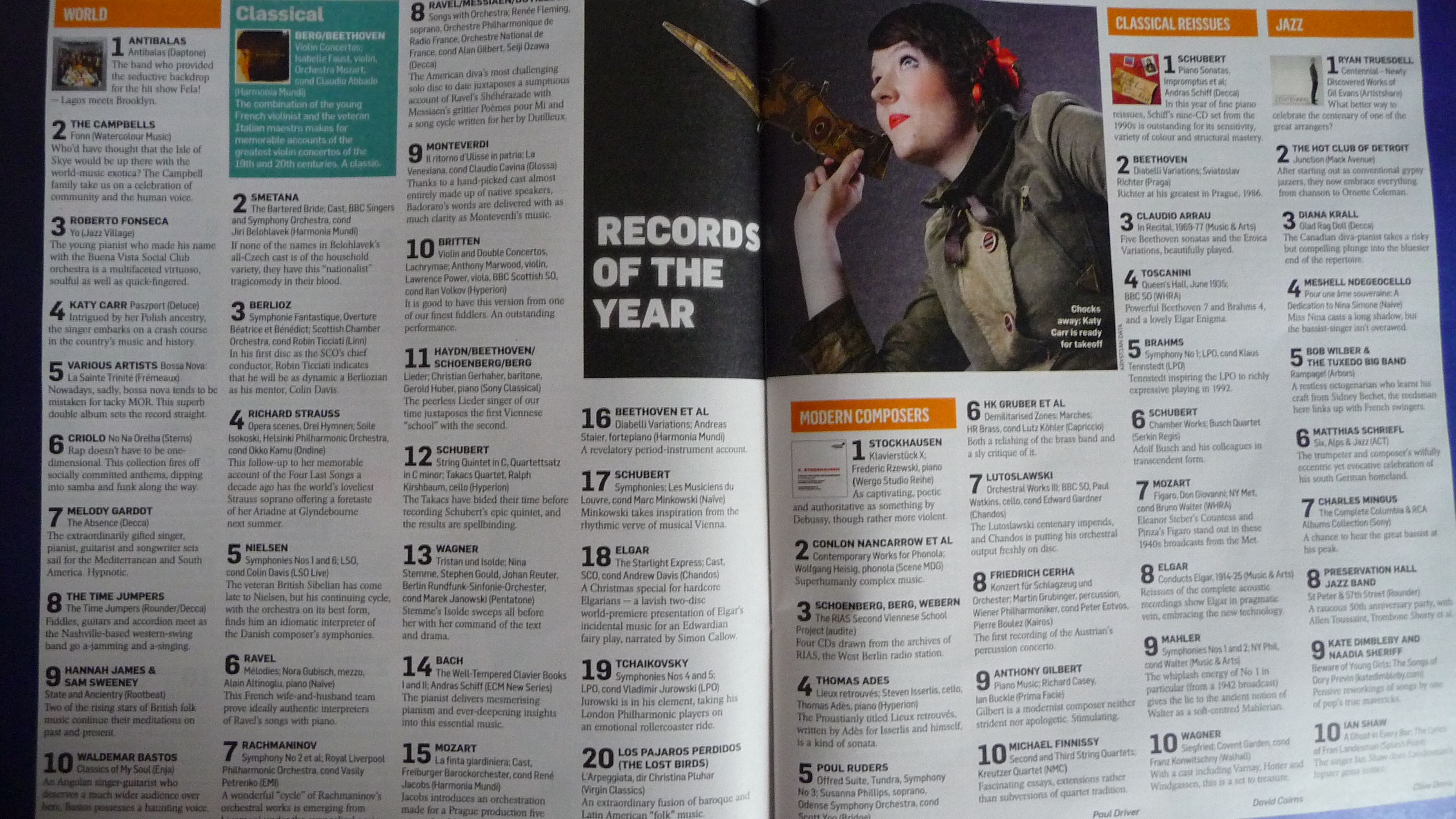 Sunday times best albums 2012