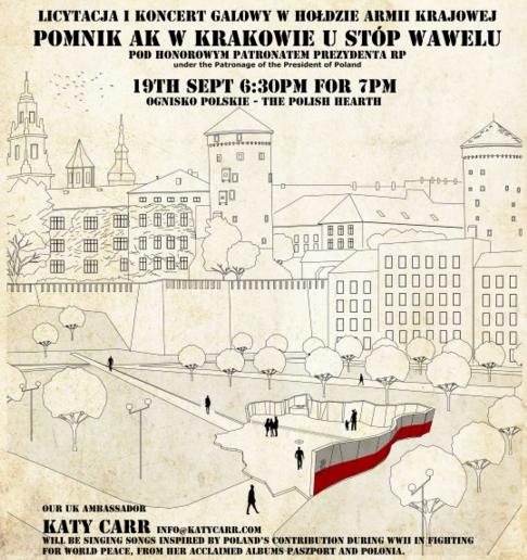 Katy Carr Pomnik AK Krakow