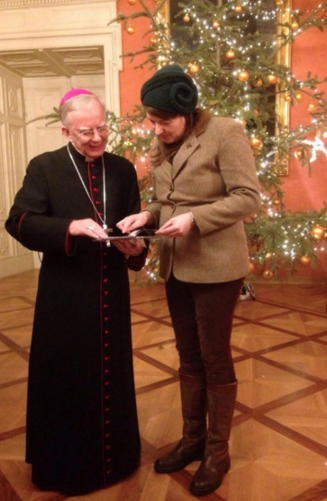 Katy Carr's Jan/ Feb 2018 Newsletter - Meeting the Archbishop of Krakow, Poland