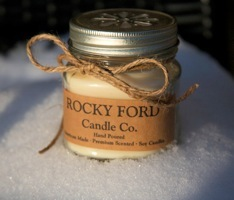 Greta Newton's famous Rocky Ford Candle Company Candles