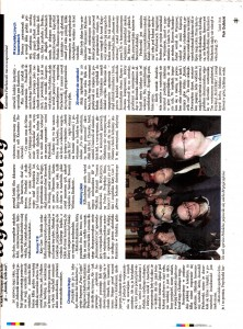 Dziennik Polski Polish Daily News 8th April 02 2011