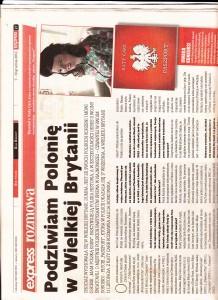 Polish Express Katy Carr article Dec 2012 i