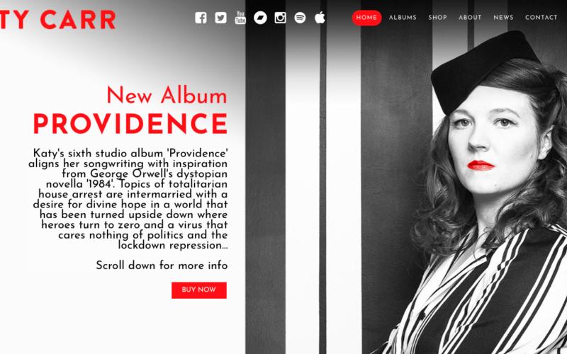 Katy Carr new website launch :)