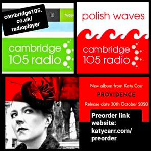 Katy Carr Polish Waves Cambridge105FM